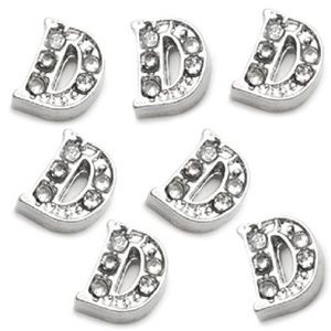 Letter D Floating Charm for Picture Locket